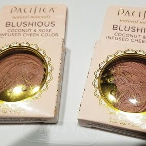 2 PACIFICA Blushious Coconut Rose Suede Wild Rose